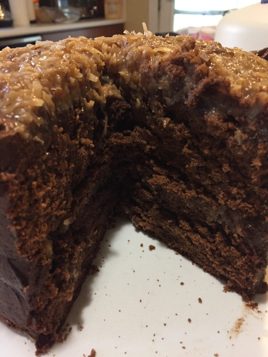 Best German Chocolate Cake  Best German Chocolate Cake Baking Naturally