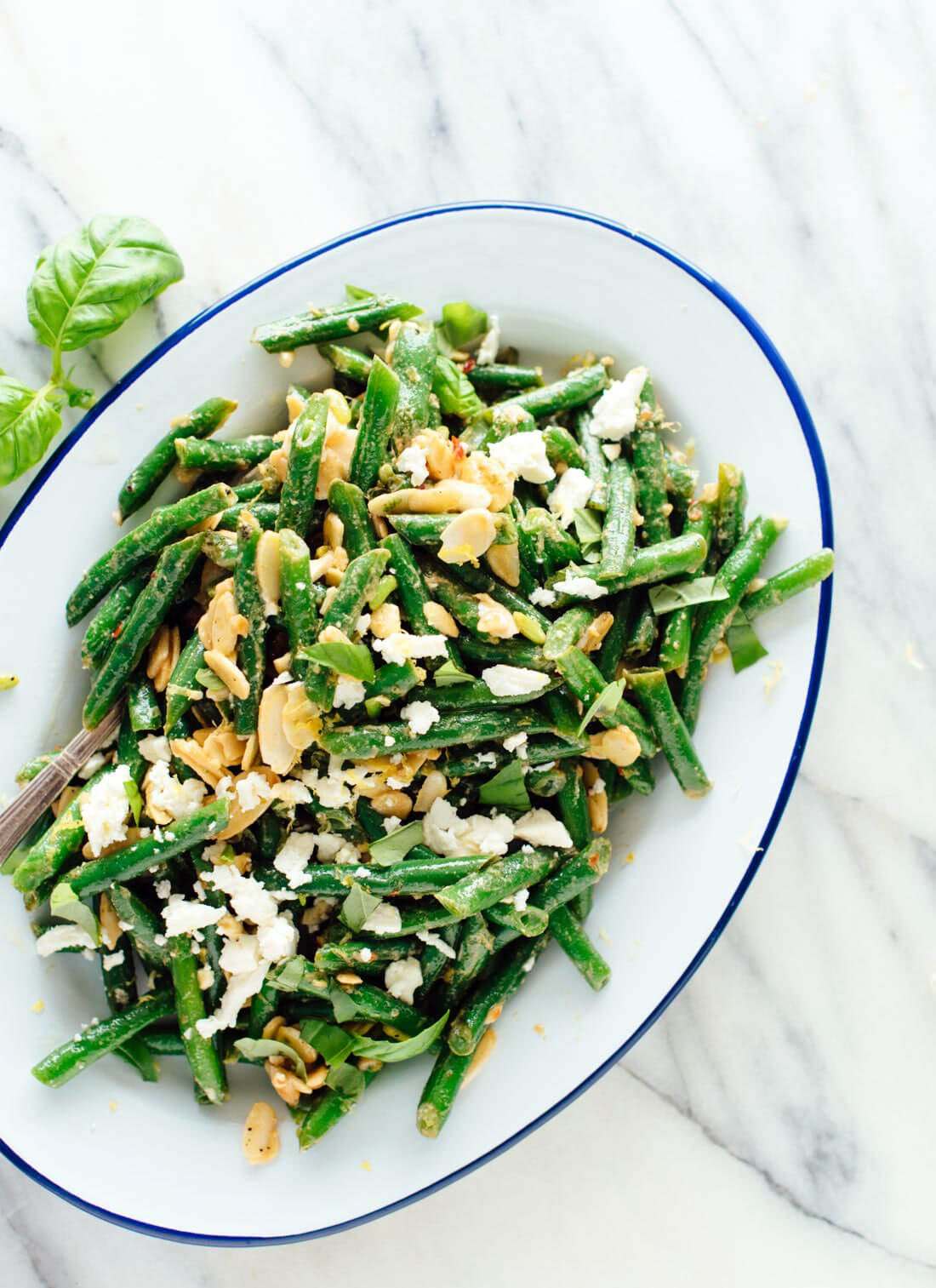 Best Green Bean Recipes  Green Bean Salad with Toasted Almonds & Feta Cookie and Kate