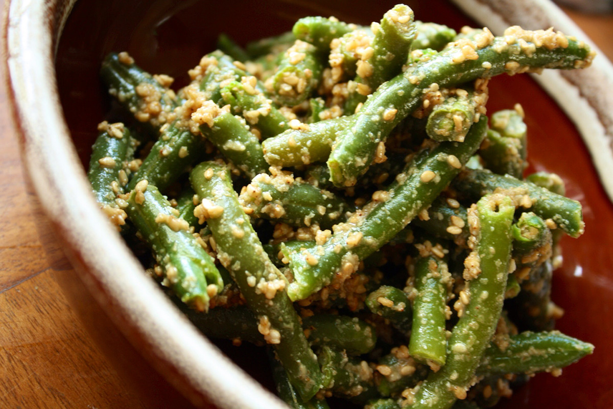 Best Green Bean Recipes  Green Beans Two Ways Brazen Kitchen November 2013
