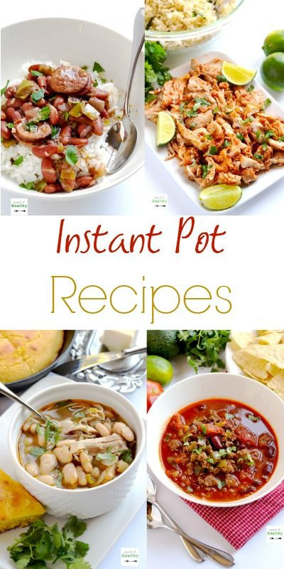 Best Healthy Instant Pot Recipes  17 Best images about instant pot recipes on Pinterest