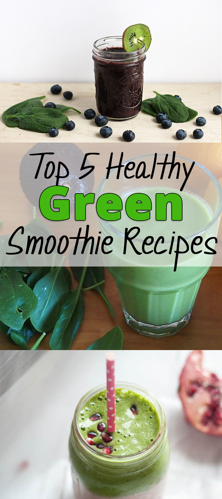 Best Healthy Smoothie Recipes  Top 5 Healthy Green Smoothie Recipes Brick & Glitter