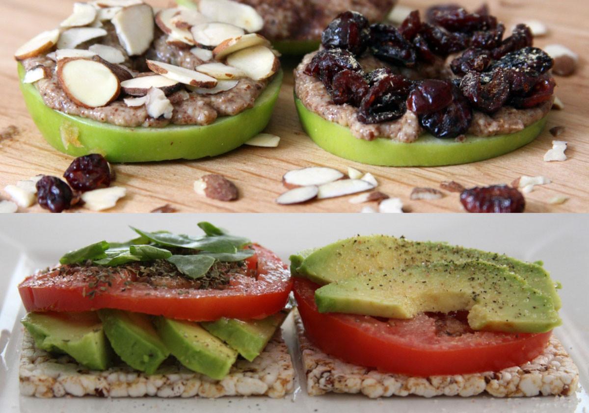 Best Healthy Snacks  2 Super FAST Healthy Snacks