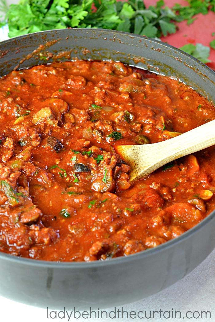 Best Homemade Spaghetti Sauce  Easy Homemade Spaghetti Sauce