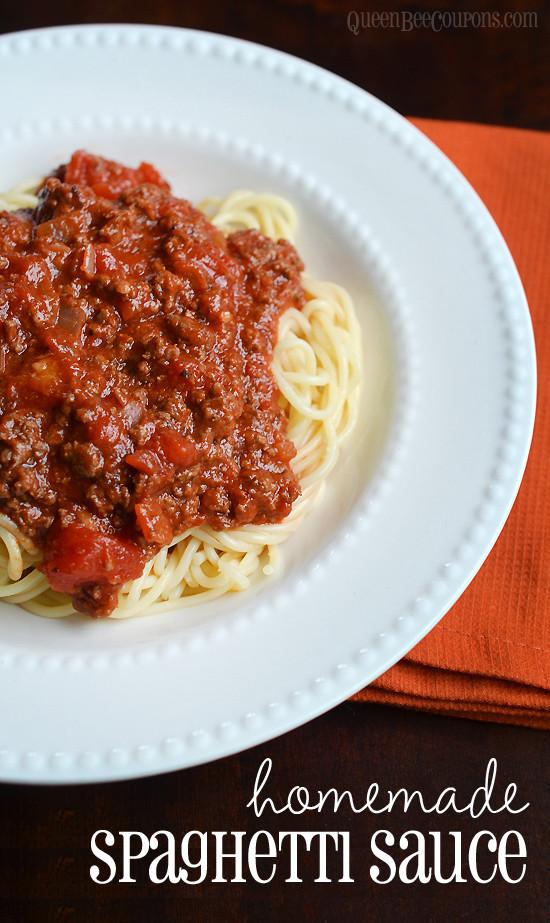 Best Homemade Spaghetti Sauce  Homemade spaghetti sauce