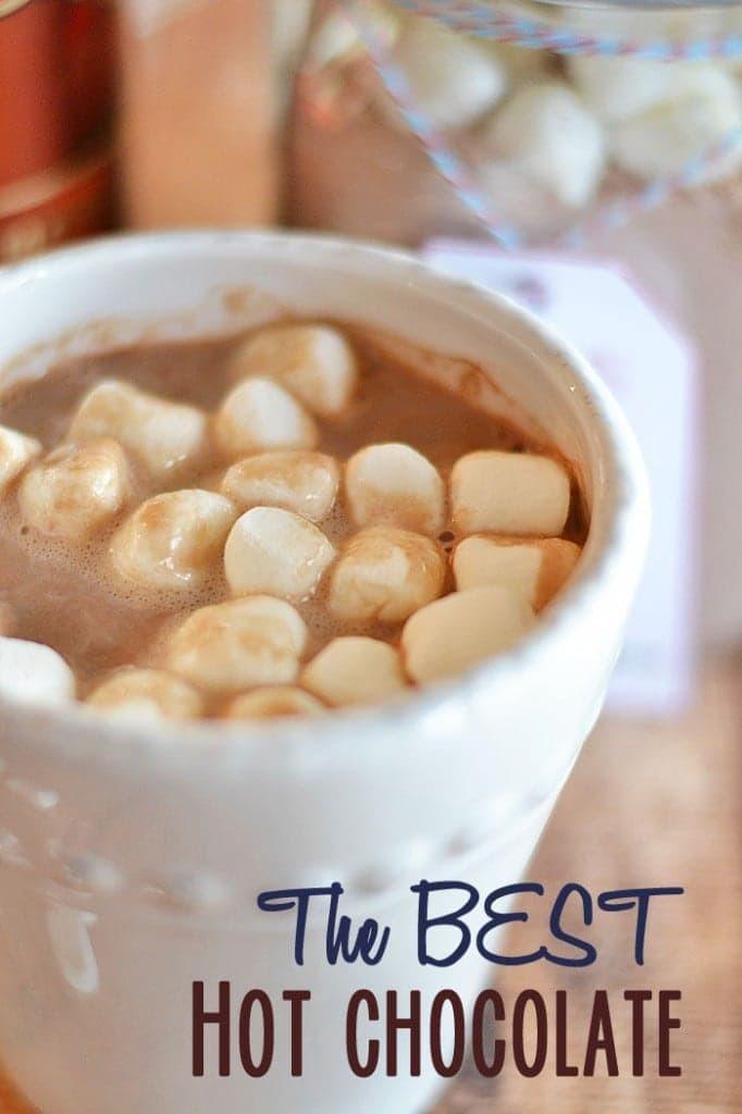 Best Hot Chocolate Mix  The BEST Homemade Hot Chocolate Mix