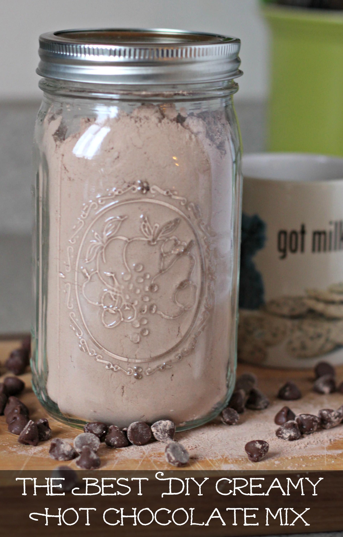 Best Hot Chocolate Mix  The Best DIY Creamy Hot Chocolate Mix Living a Sunshine Life
