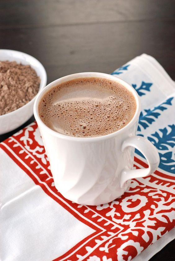 Best Hot Chocolate Recipe  best ever coco mix Tummy yummy Pinterest