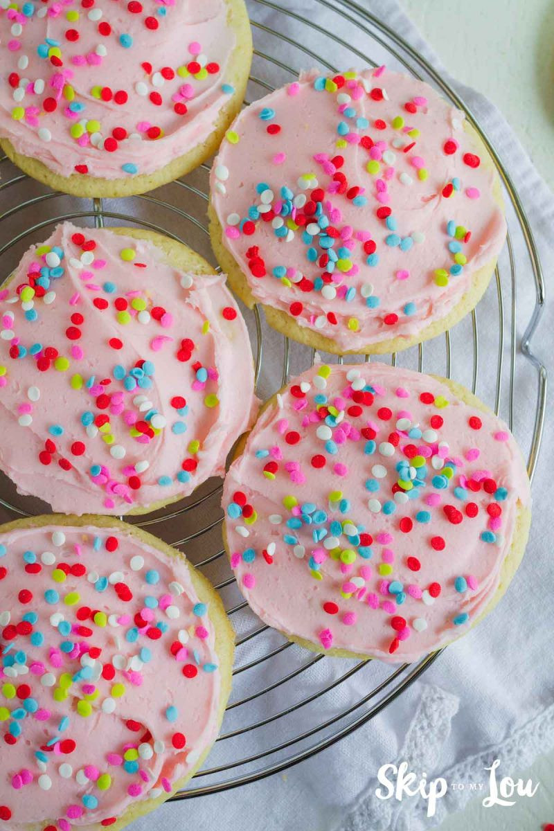 Best Icing For Sugar Cookies  Best Sugar Cookie Frosting Ever