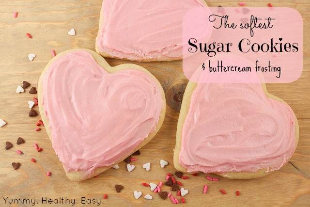 Best Icing For Sugar Cookies  The Softest Sugar Cookies & Buttercream Frosting Yummy