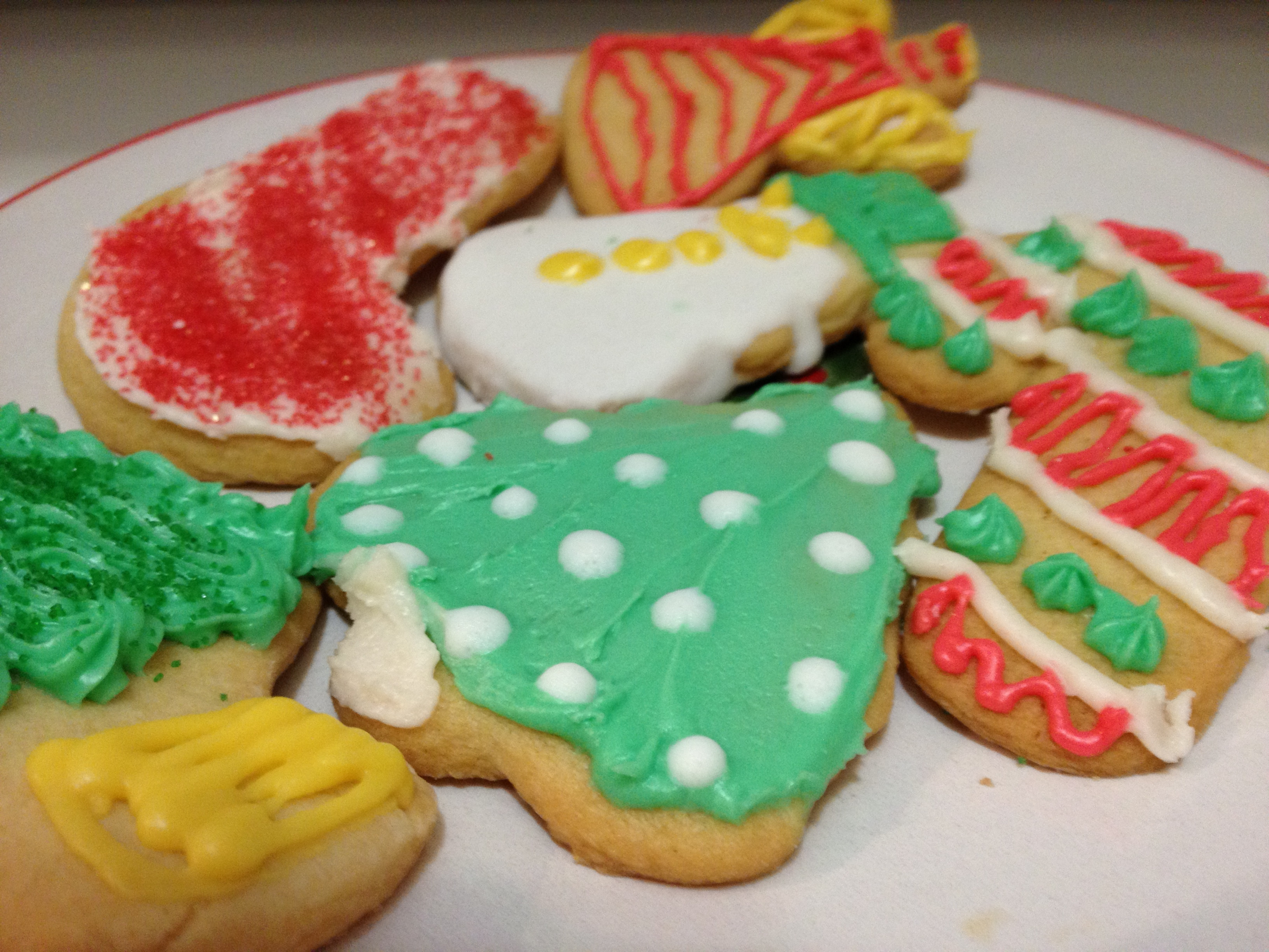 Best Icing For Sugar Cookies  Best Ever Sugar Cookies with Easy Creamy Icing