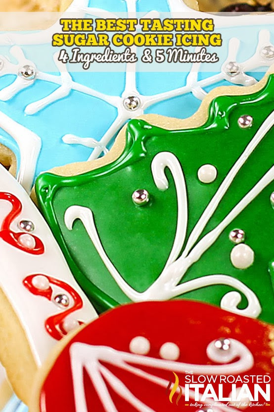Best Icing For Sugar Cookies  Best Tasting Sugar Cookie Icing With NEW VIDEO