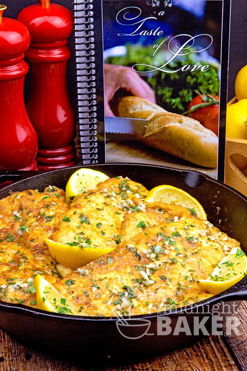 Best Italian Recipes  Chicken Francaise The Midnight Baker