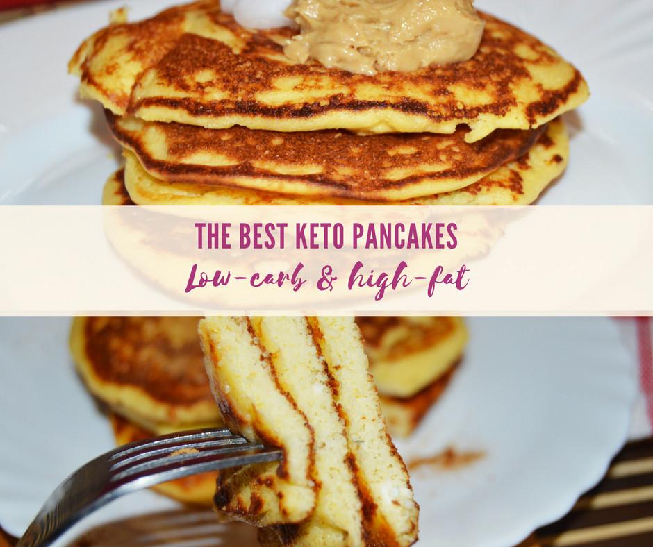 Best Keto Pancakes  The best Keto Pancakes with Coconut Flour