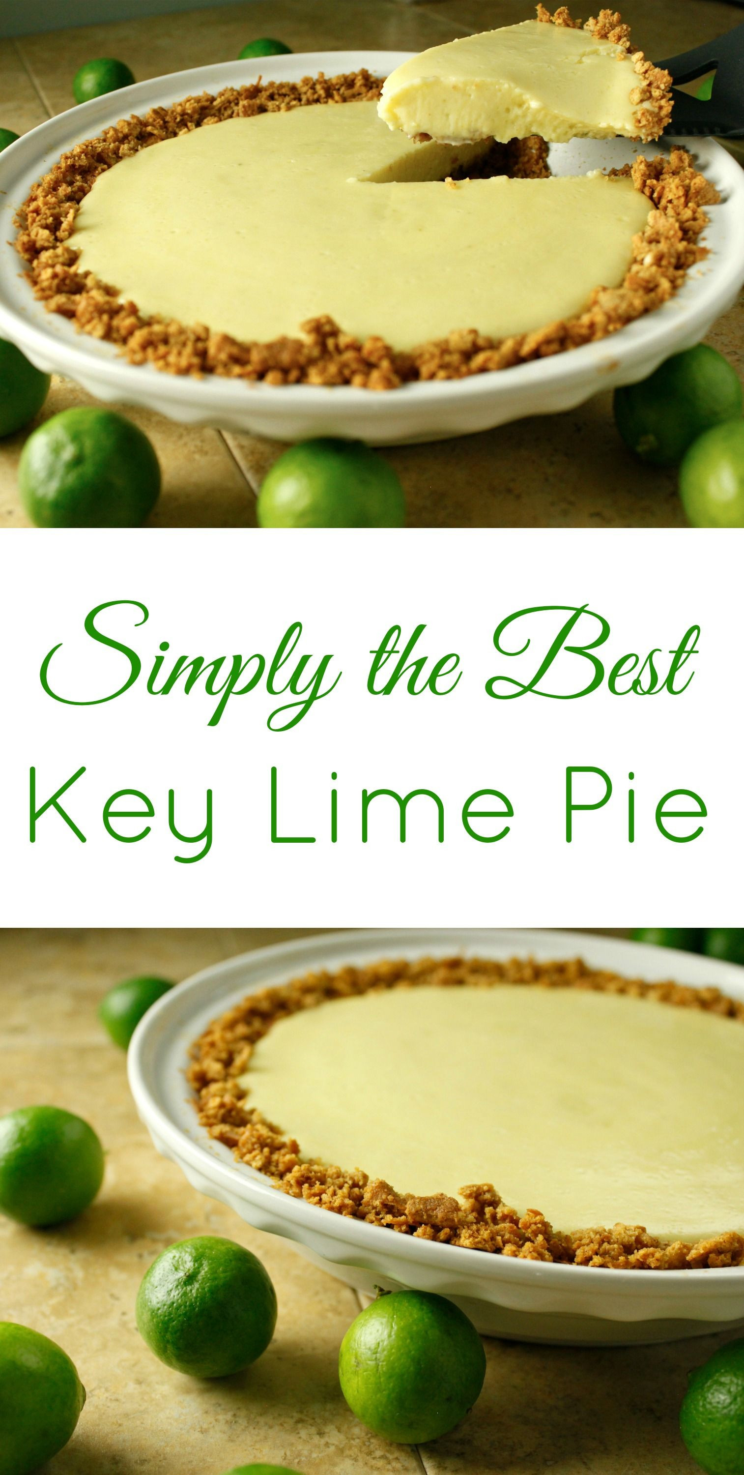 Best Key Lime Pie Recipe  Simply the Best Key Lime Pie Recipe I ve found This
