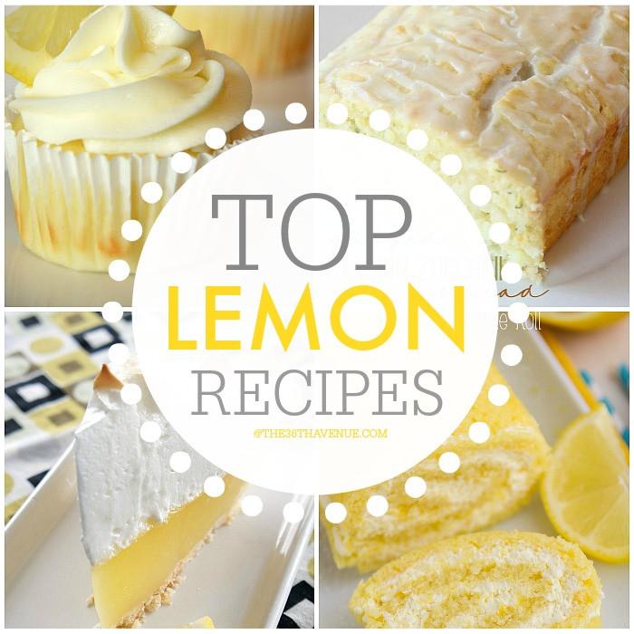 Best Lemon Desserts  Best Lemon Dessert Recipes The 36th AVENUE