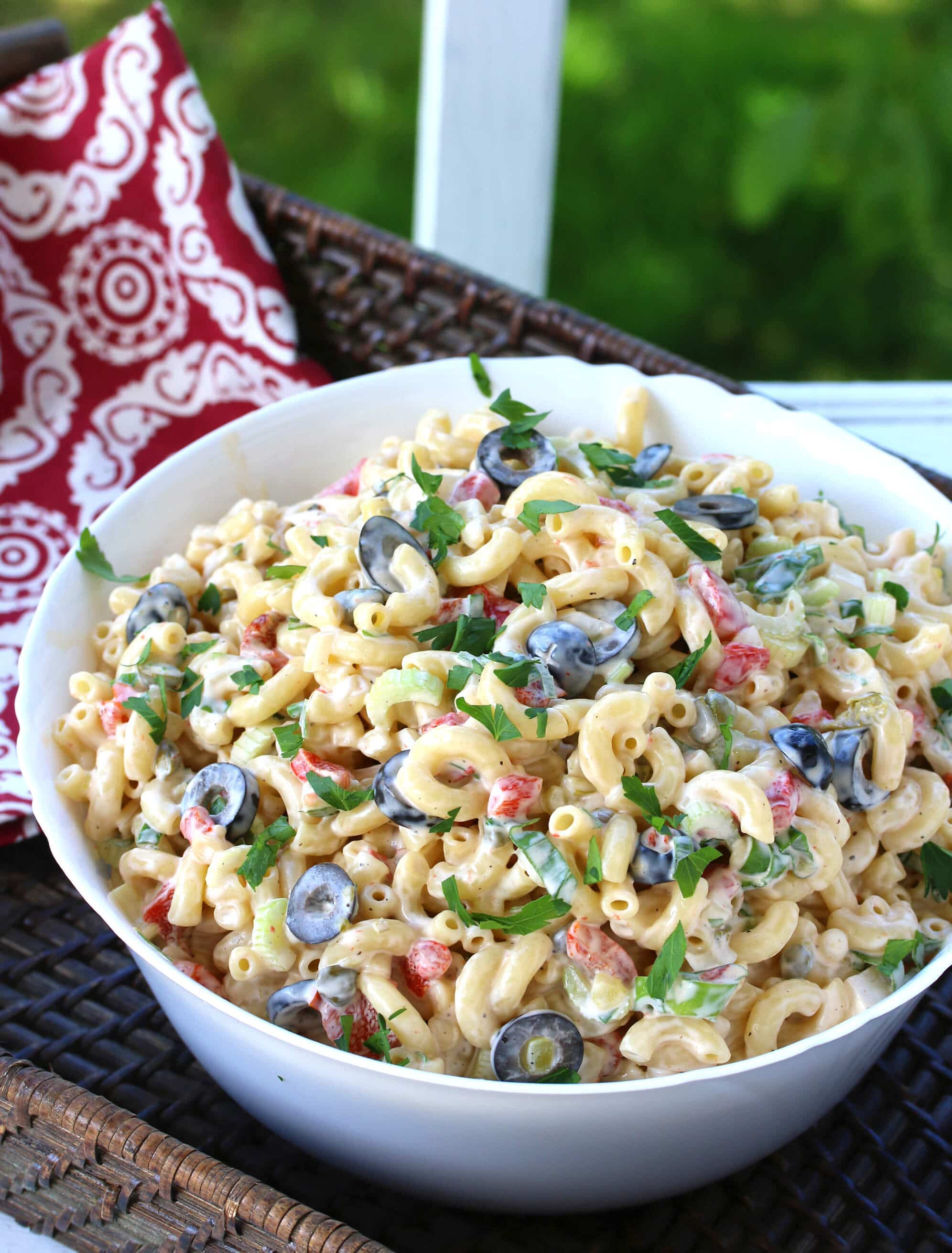 Best Macaroni Salad  BEST Macaroni Salad The Daring Gourmet