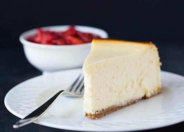 Best New York Cheesecake Recipe  New York Style Cheesecake Recipe