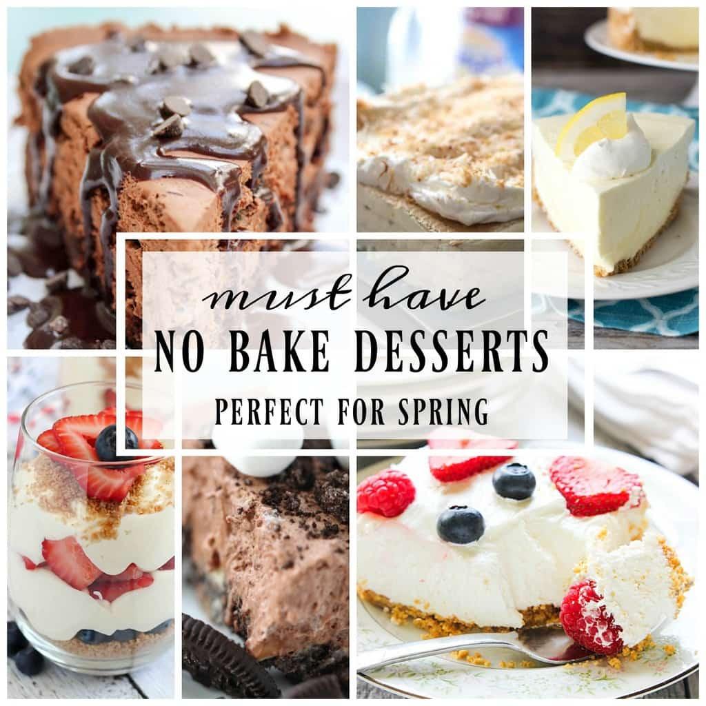 Best No Bake Dessert  Best Ever No Bake Dessert Recipes Yummy Healthy Easy