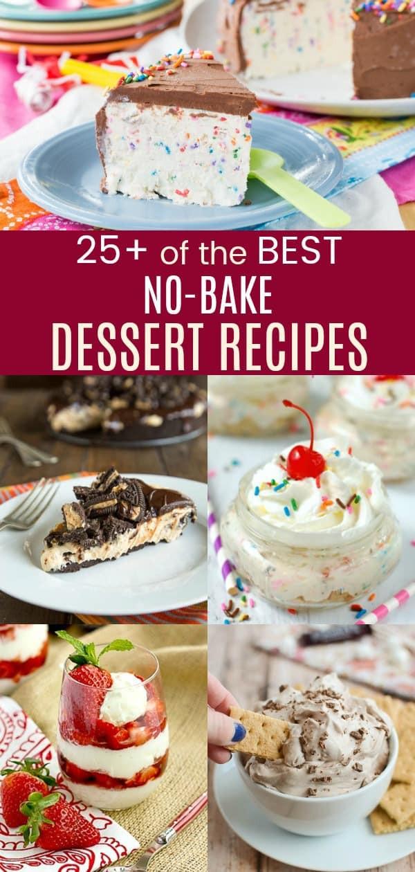 Best No Bake Dessert  Over 25 of The Best No Bake Dessert Recipes Cupcakes