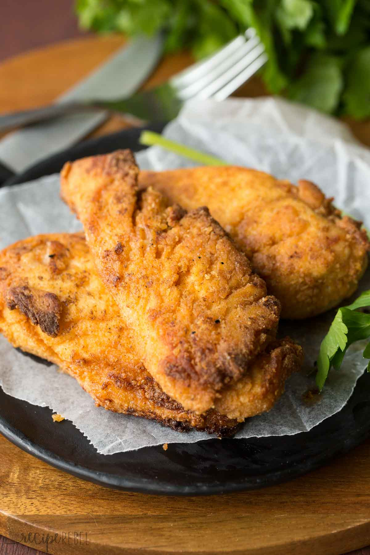 Best Oven Fried Chicken Recipe  The Best Oven Fried Chicken Copycat KFC Fried Chicken