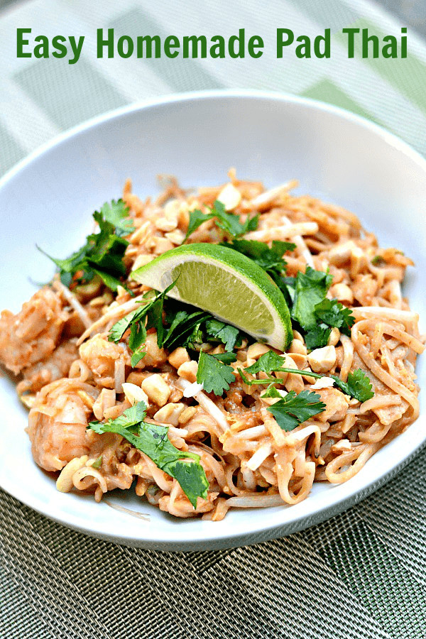 Best Pad Thai  The Best Easy Homemade Pad Thai Recipe