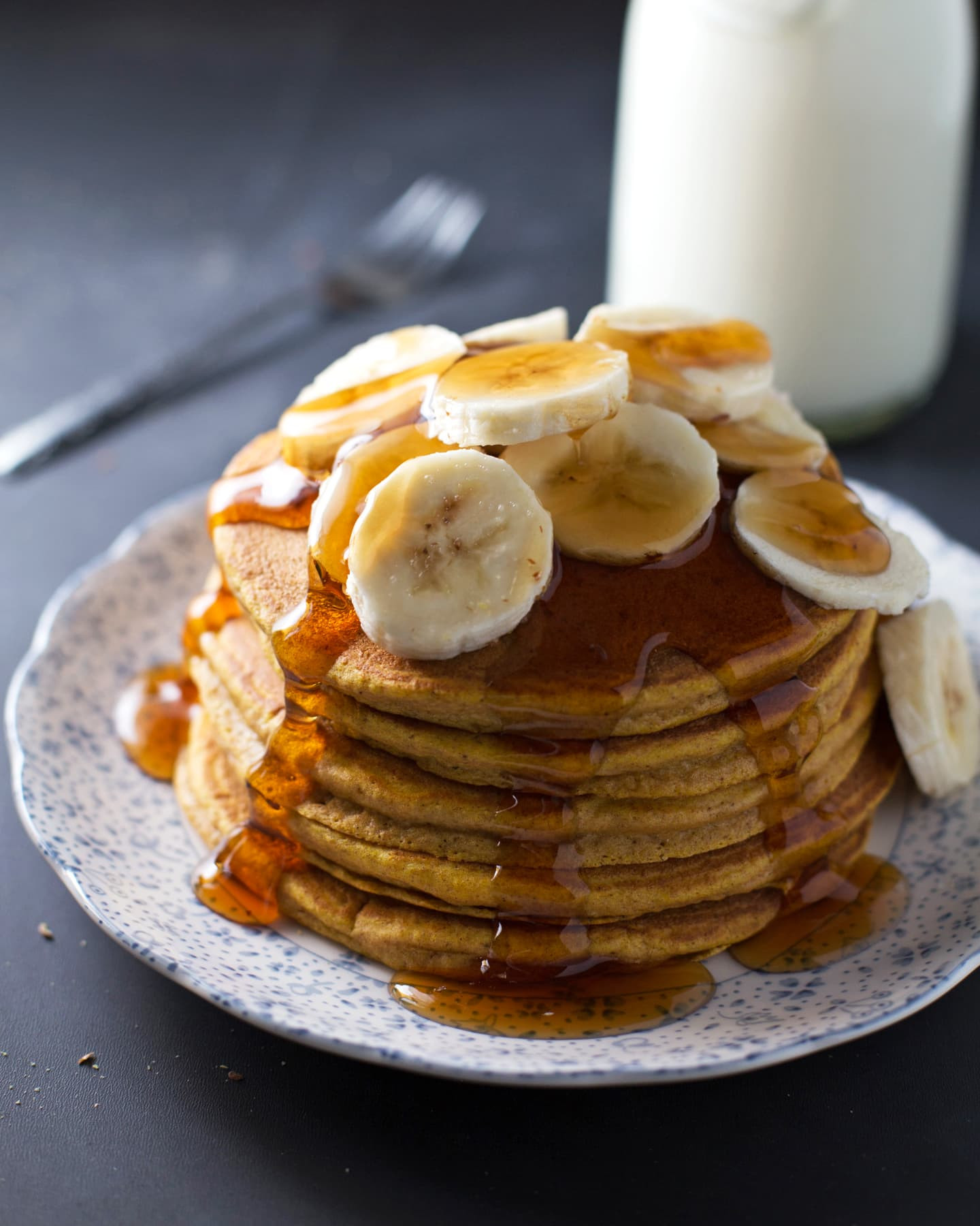 Best Pancakes Ever  Best Ever Whole Wheat Pumpkin Pancakes Recipe Pinch of Yum