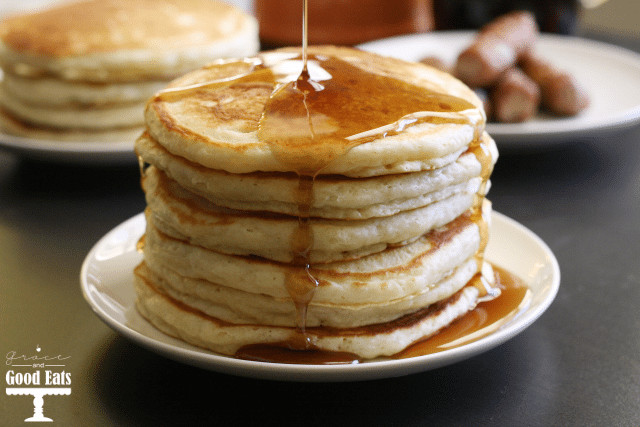Best Pancakes Ever  Best Ever Homemade Pancakes Recipe Grace and Good Eats