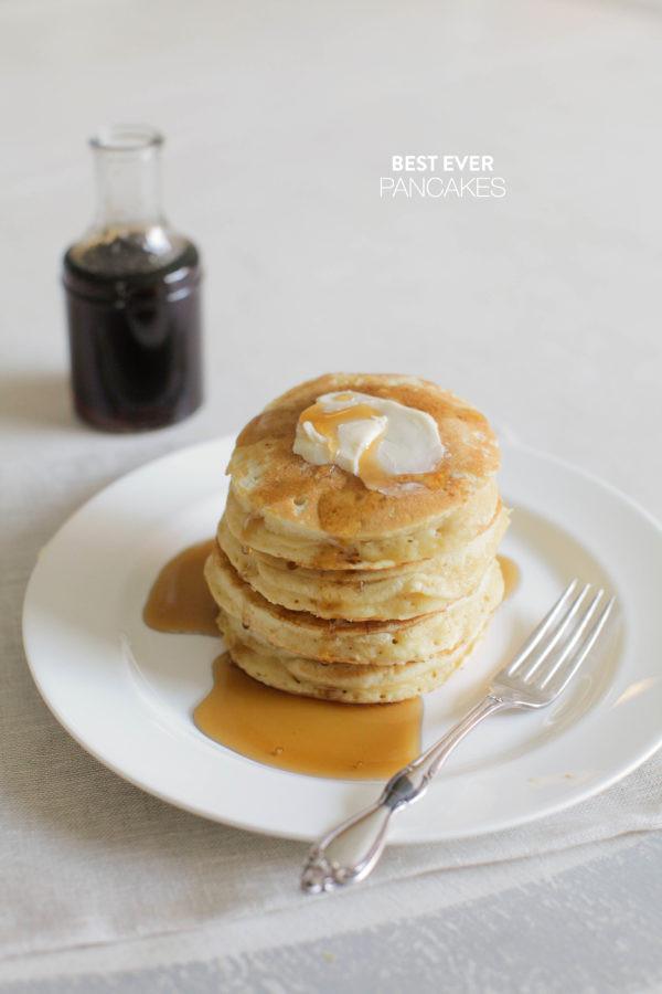 Best Pancakes Ever  Best Ever Pancake Recipe Style Me Pretty Living