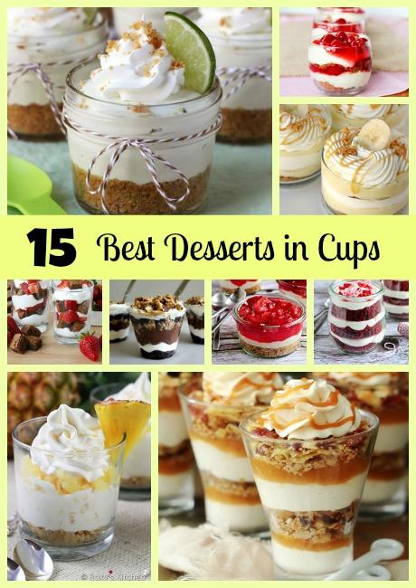 Best Party Desserts  15 Best Desserts in Cups