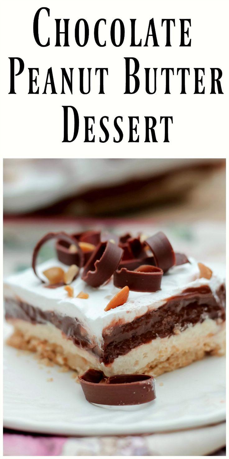 Best Peanut Butter Dessert  5313 best images about Best Desserts on Pinterest