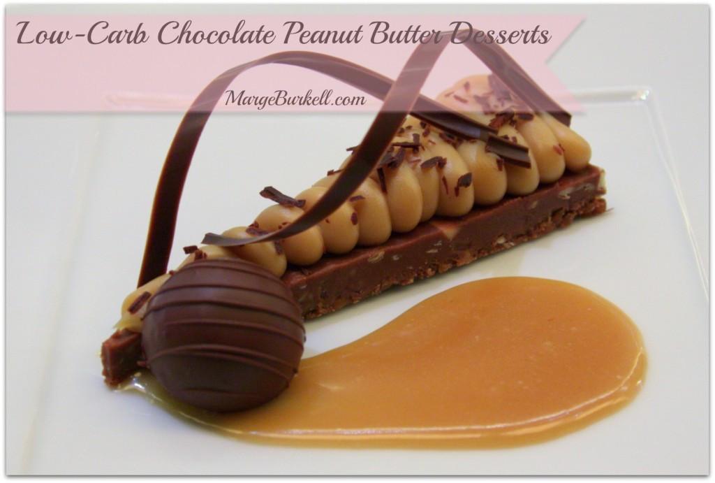 Best Peanut Butter Desserts  6 BEST Chocolate Peanut Butter Desserts Low Carb