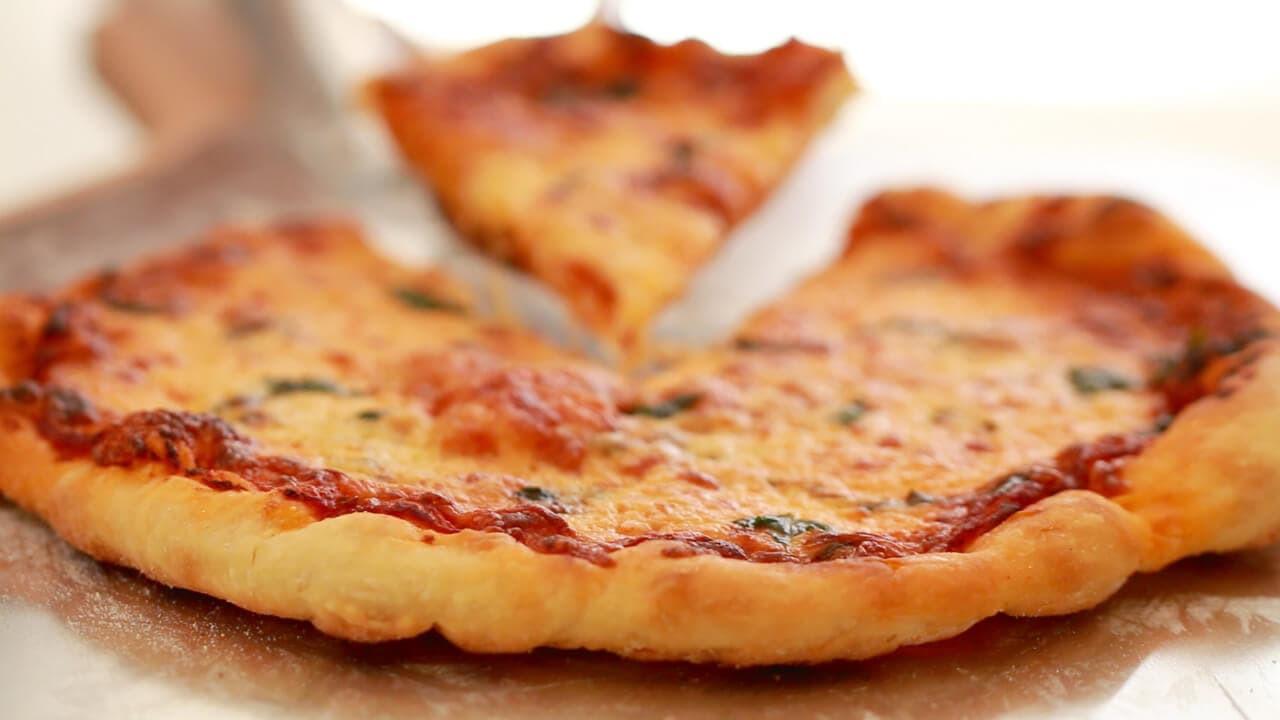 Best Pizza Dough  Best Ever Pizza Dough No Knead Gemma's Bigger Bolder
