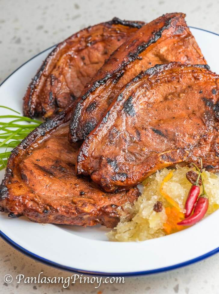 Best Pork Chops Recipe  Marinated Grilled Pork Chop Panlasang Pinoy