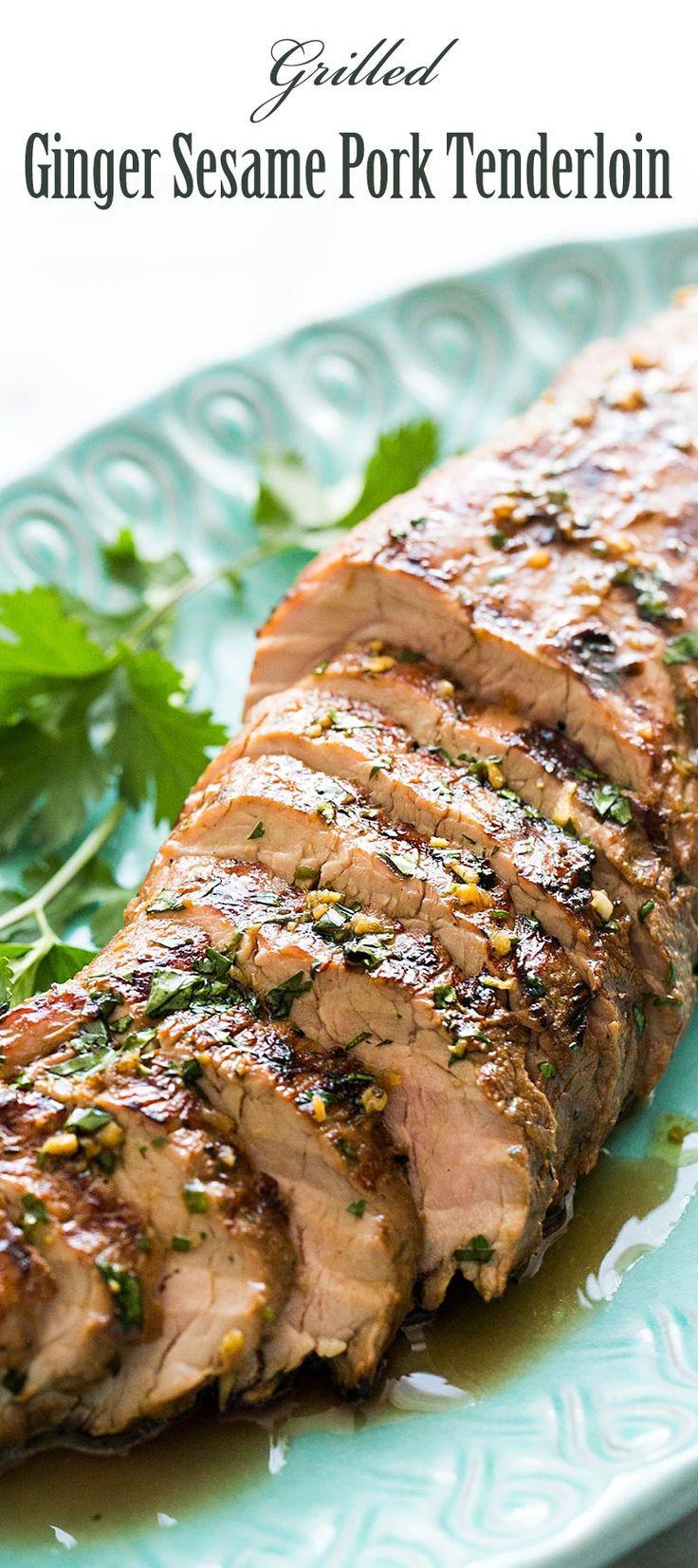 Best Pork Tenderloin Marinade  25 best ideas about Grilled Pork Tenderloins on Pinterest