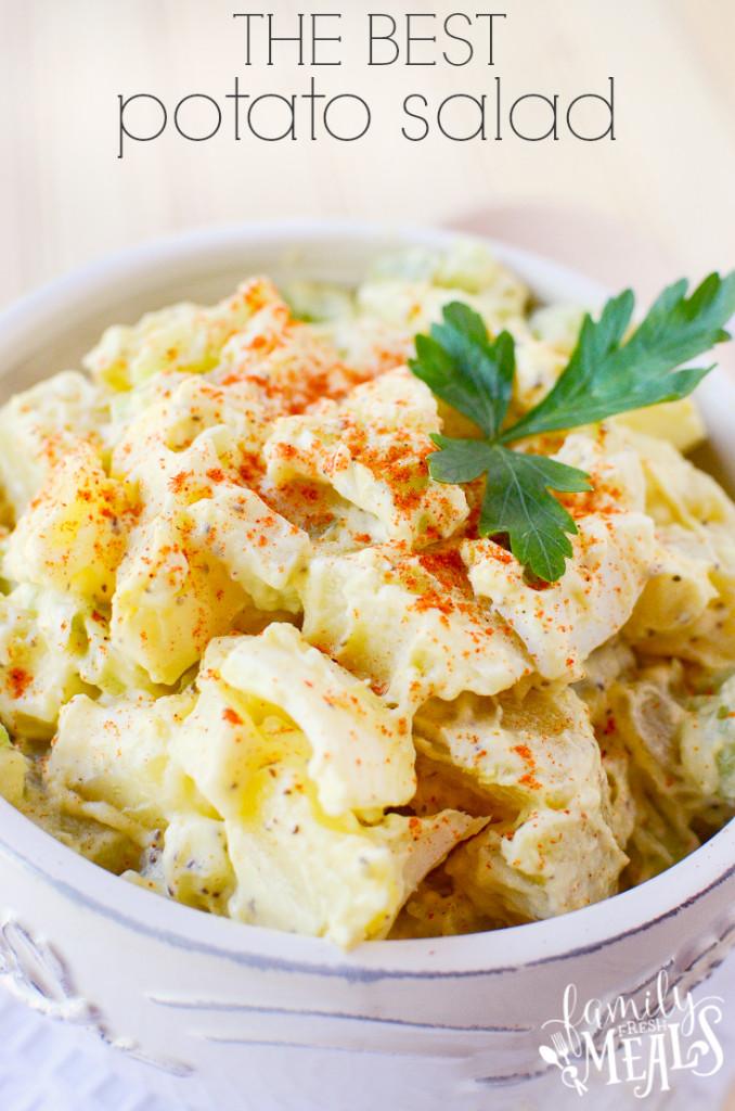 Best Potato Recipes  best potato salad ever