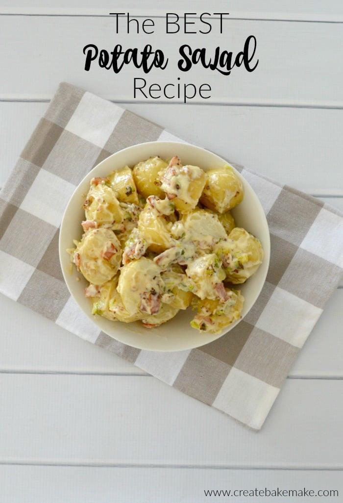 Best Potato Recipes  The Best Potato Salad Recipe Create Bake Make