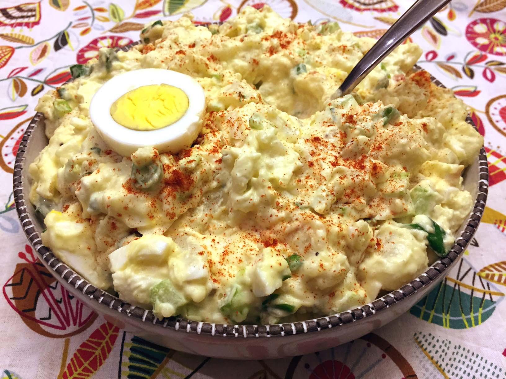 Best Potato Recipes  Easy Potato Salad With Eggs – Best Potato Salad Recipe