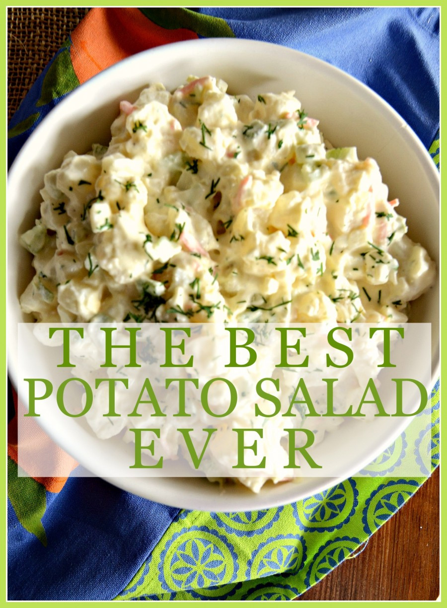 Best Potato Salad Ever  THE BEST POTATO SALAD EVER NO KIDDING StoneGable