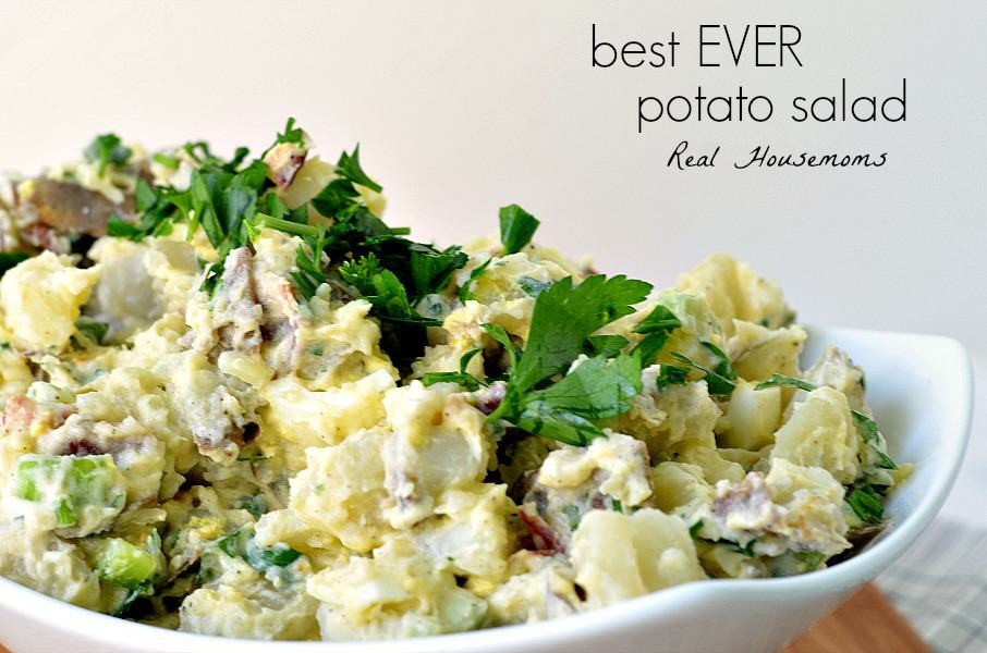 Best Potato Salad Ever  Best EVER Potato Salad Real Housemoms