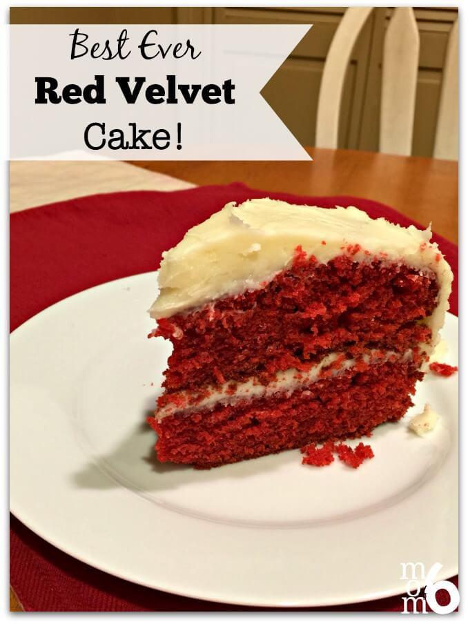 Best Red Velvet Cake  Best EVER Red Velvet Cake Mom 6