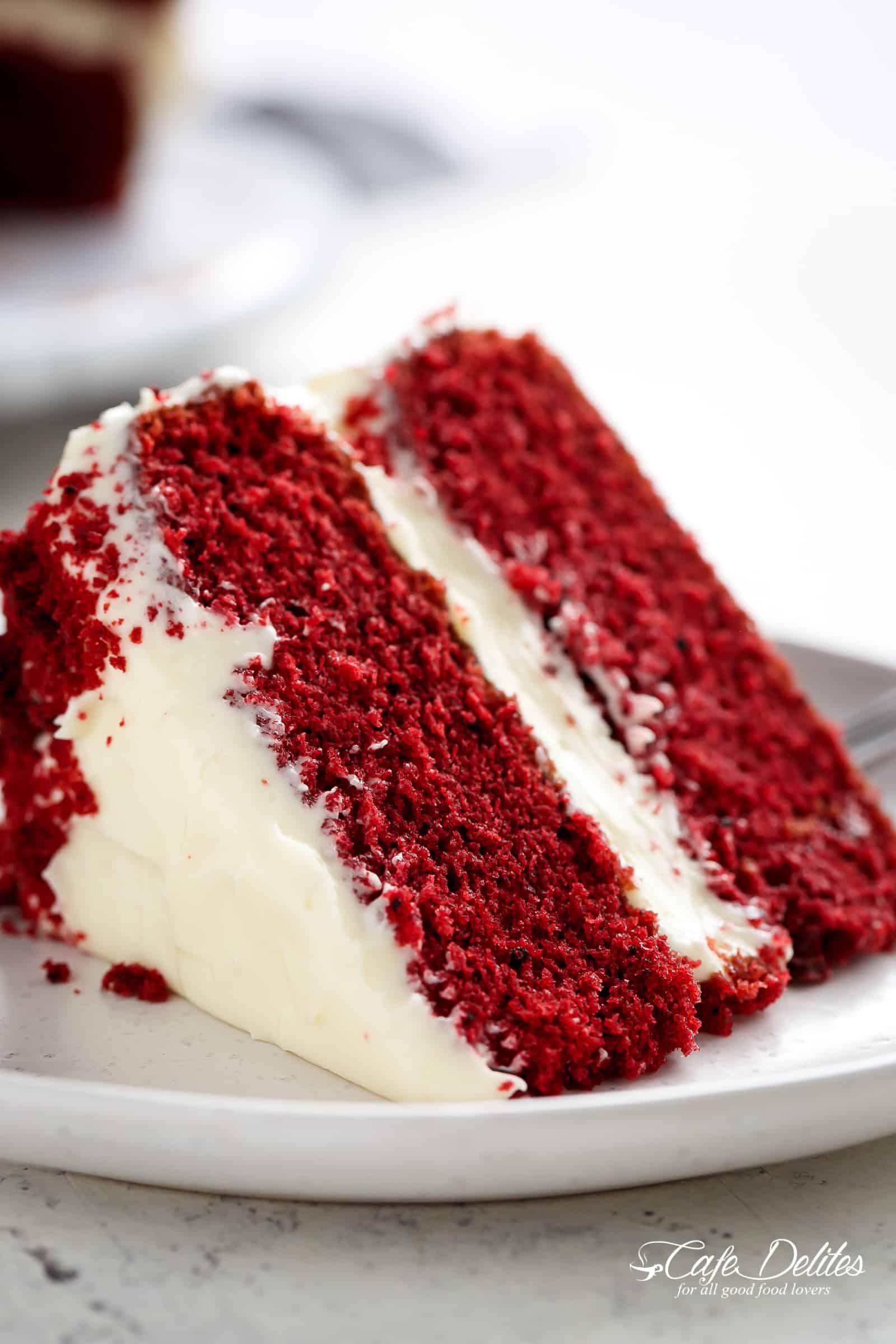 Best Red Velvet Cake  Best Red Velvet Cake Cafe Delites