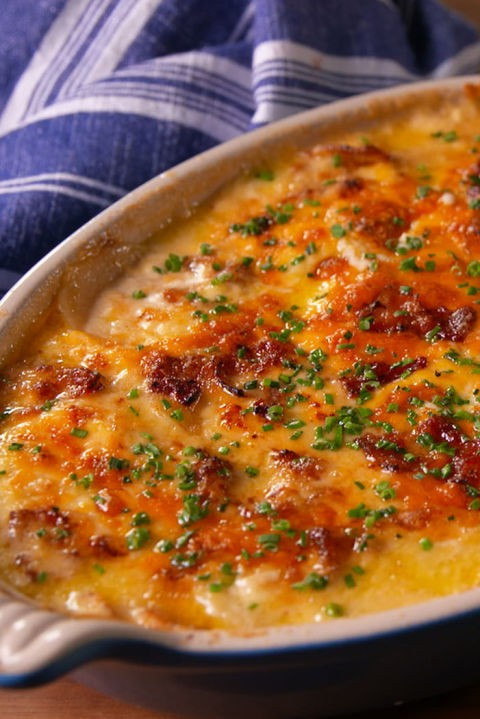 Best Scalloped Potatoes Recipe  Loaded Scalloped Potatoes Lynn Finn