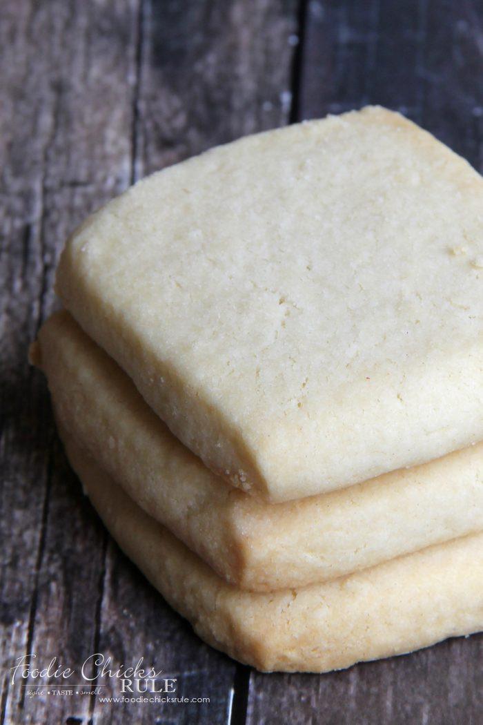 Best Shortbread Cookies  Best Shortbread Cookie Recipe Ever Foo Chicks Rule