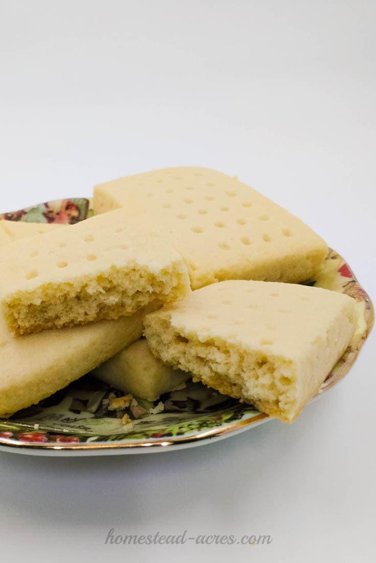 Best Shortbread Cookies  The Best Scottish Shortbread Cookies Homestead Acres