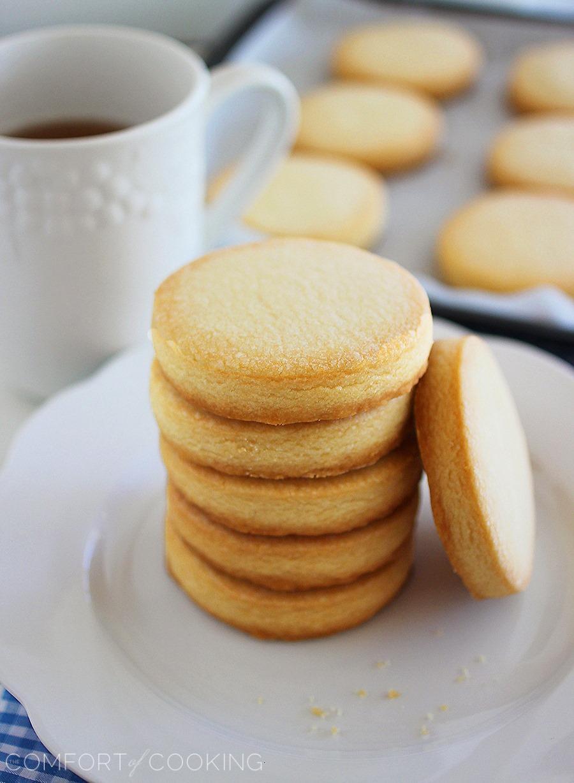 Best Shortbread Cookies  3 Ingre nt Shortbread Cookies