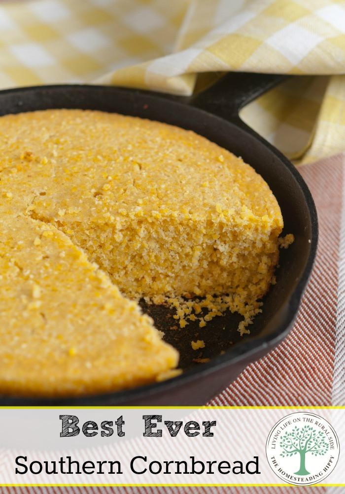 Best Southern Cornbread Recipe  The Best Ever Southern Cornbread