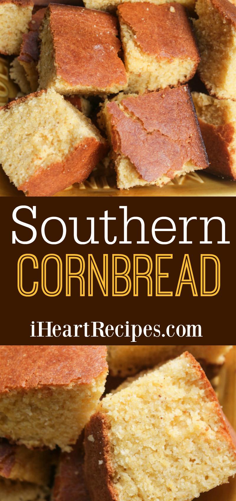 Best Southern Cornbread Recipe  Classic Southern Cornbread Recipe