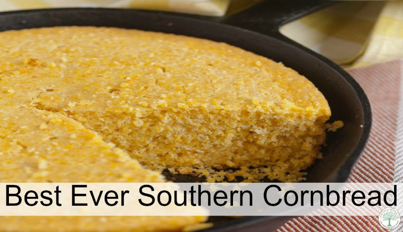 Best Southern Cornbread Recipe  The Best Ever Southern Cornbread The Homesteading Hippy