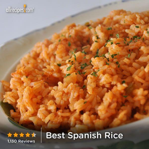 Best Spanish Rice Recipe  Best Spanish Rice Super Side Dishes