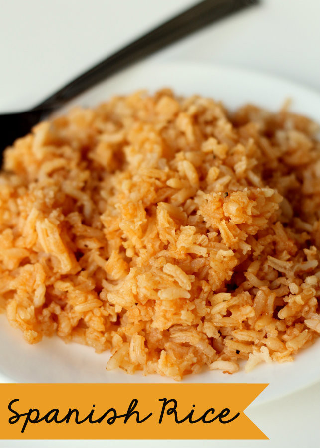 Best Spanish Rice Recipe  Las Palmas Chicken Enchiladas